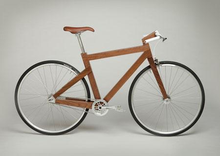 Black Walnut Bike Frame
