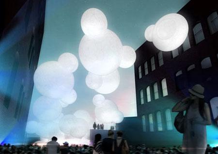 Bubbly Cloudscape