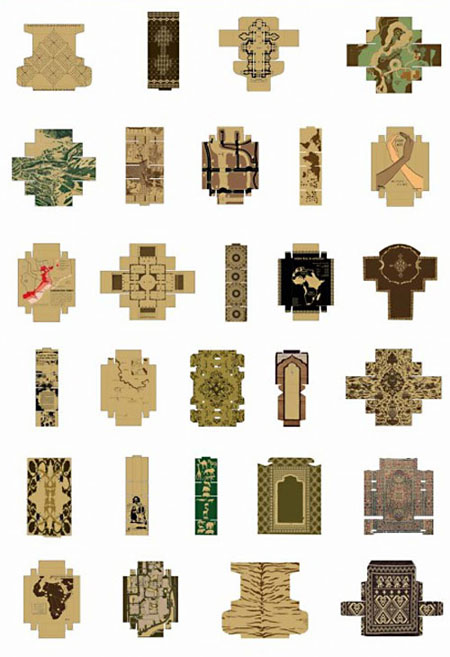 Cardboard Carpet