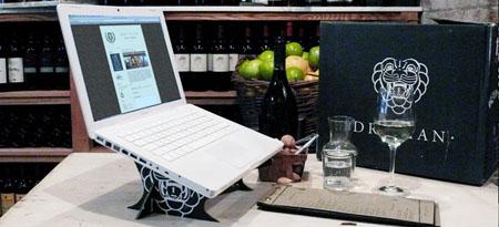 Cardboard Laptop Cradle