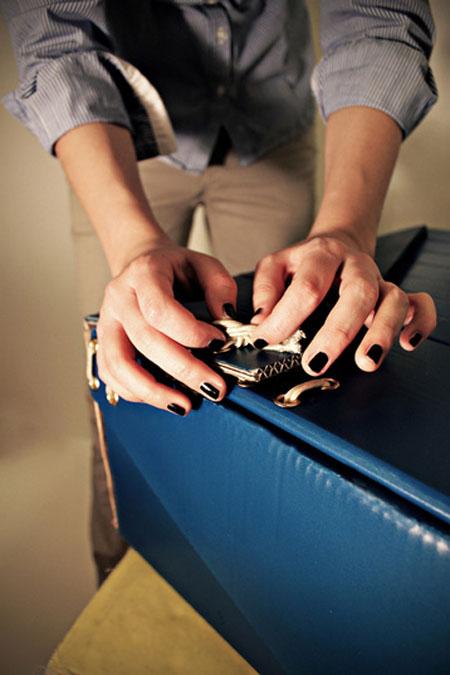 Cardboard Luggage