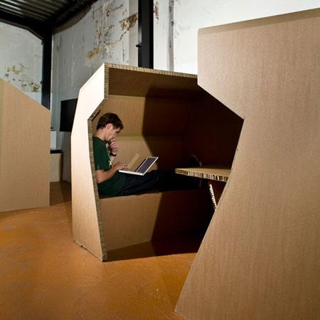 Cardboard Office