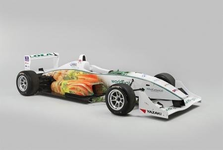 Eco-friendly Formula3 Racer