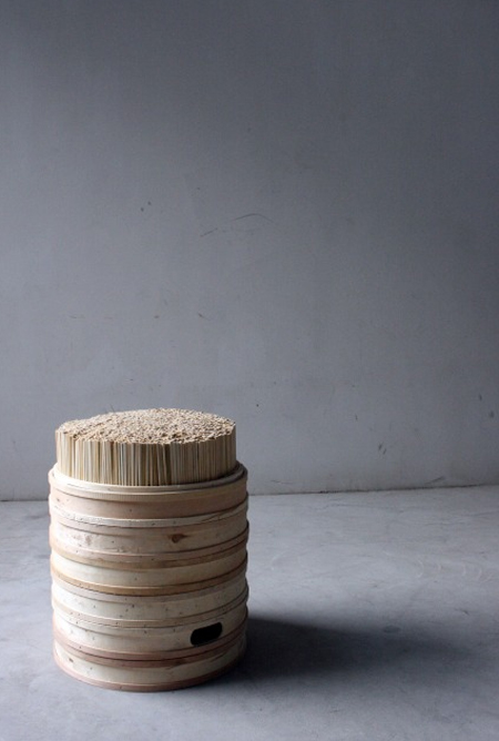 Chopstick and Steamer Stool