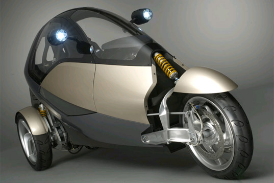 clever eco friendly vehicle concept