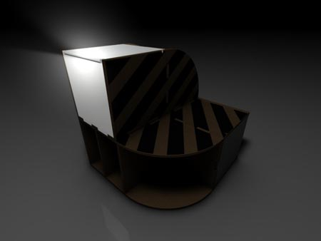 Compact Cardboard Furniture