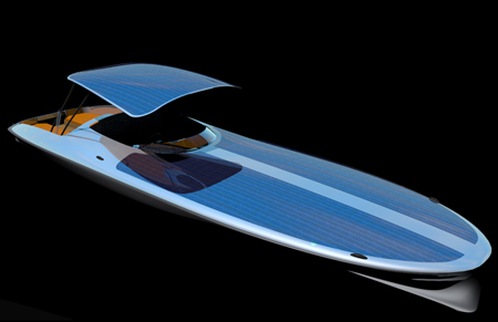 czeers mk1 solar-powered boat