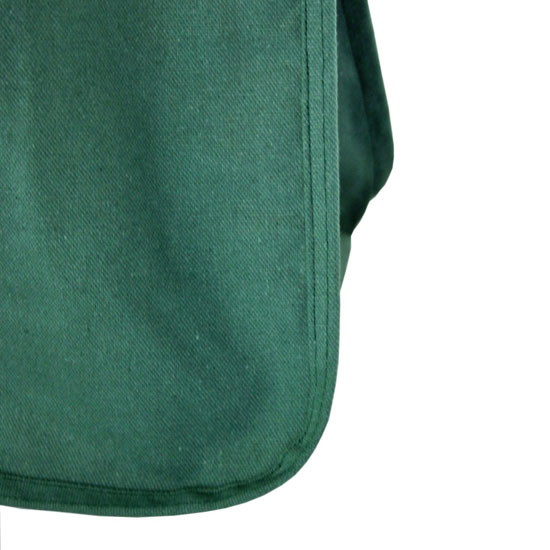 Deluxe Organic Cotton Grocery Bag with Bottle Sleeves
