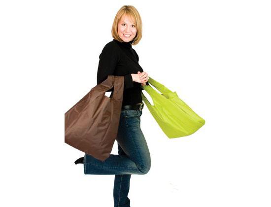 EarthSAKS Reusable Eco Shopping and Produce Bag Set