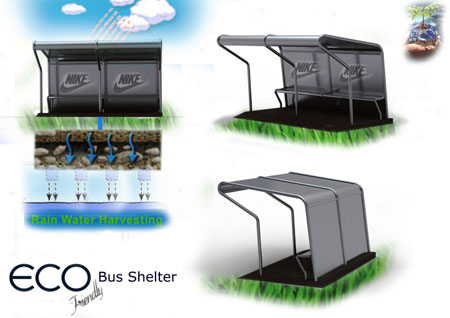 Eco-friendly Bus Shelter