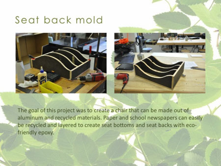Eco-Epoxy Chair