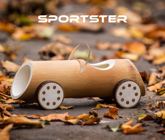 Eco-Friendly Bamboo Cars for Kids by Made of Bamboo