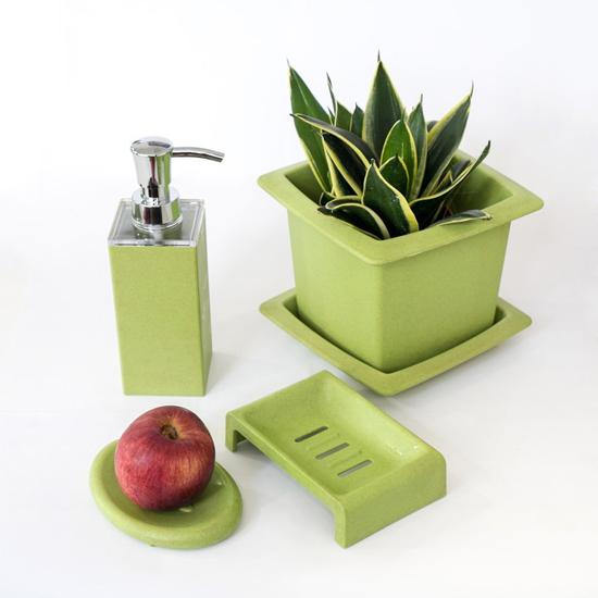 Eco-Friendly Biodegradable Wood Fiber Stackable Flower Pot