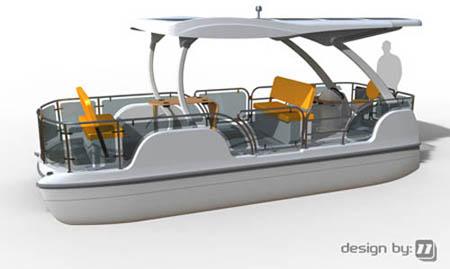 Eco-friendly Boat Concept