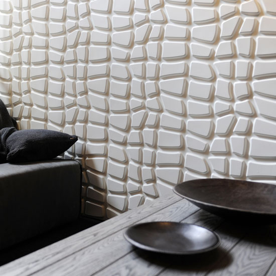 Eco-friendly Sugarcane Bagasse 3D-Wallpanels