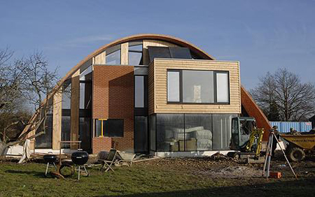 The Eco-House by University of Cambridge Architects