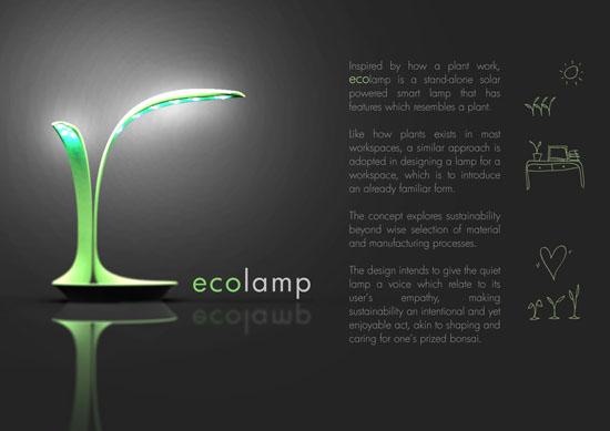 Eco-lamp Design