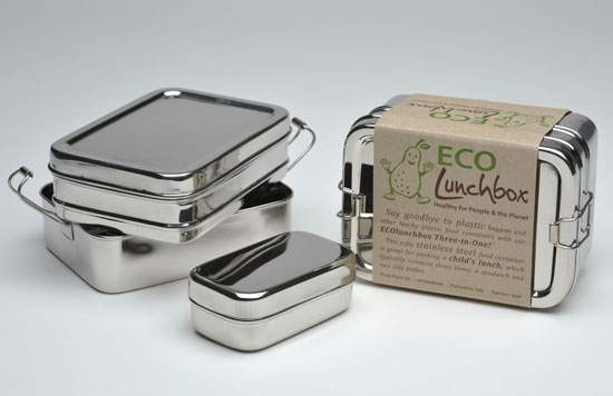 Eco Lunch Box Three-in-one Set