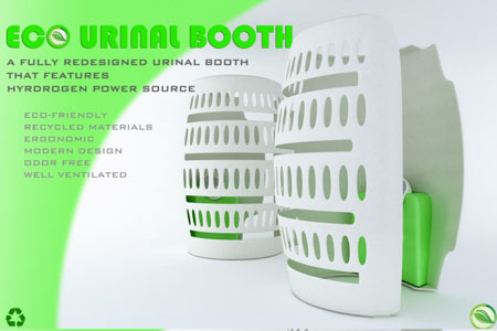 Eco-urinal Booth