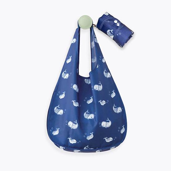 Ecomelet Blue Oxford Cloth Shopping Bag