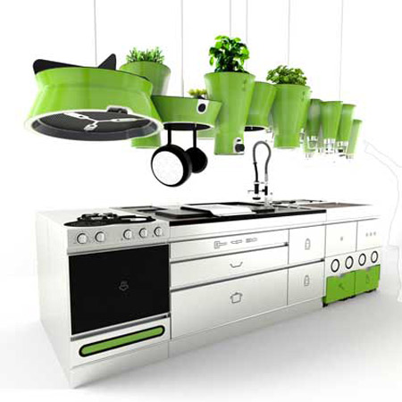 green spot kitchen ekokook the sustainable kitchen by faltazi green design 1466