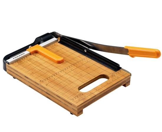 Fiskars Bamboo Base Paper Trimmer