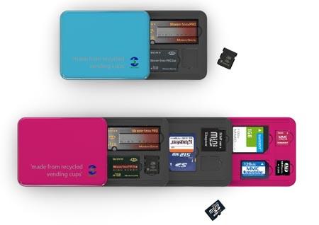 Flash Memory Card Holder