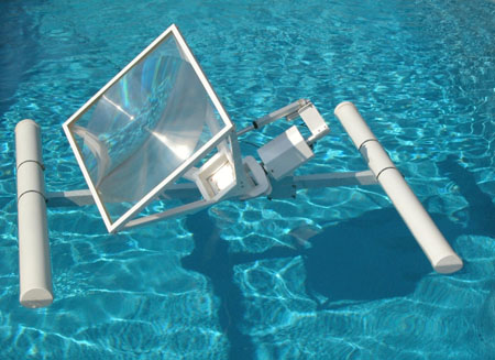 Float on water solar technology