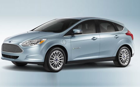 Ford Focus At-Home Charging Station