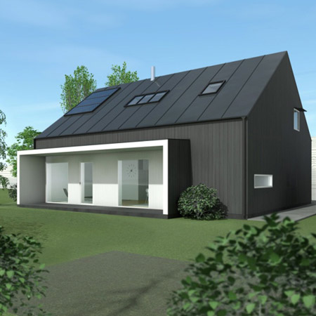 Four Passive Houses