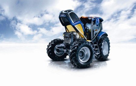Fuel Cell Tractor