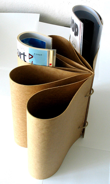 Galaplex Newspaper Holder