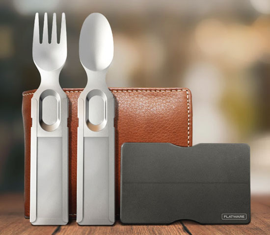 GoSun Flatware Wants To End the Era of Those Single-Use Plastic Cutlery