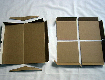 Green Box Pizza Box