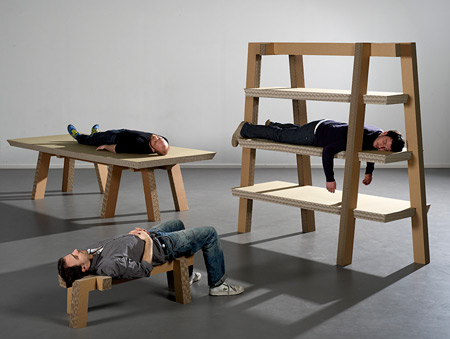 Gruff Cardboard Furniture
