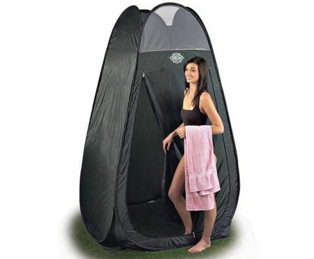 Guide Gea Solar Shower Pop-up Shelter