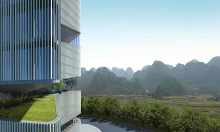 Urban Center in China