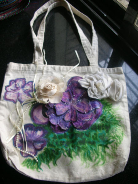 Hand Painted Canvass Bag