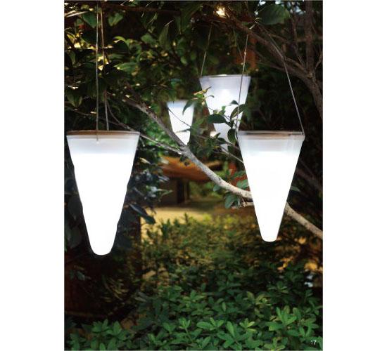 Hanging Solar Garden Light