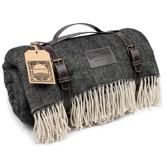 Herringbone Picnic Blanket
