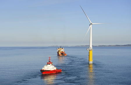 Hywind Floating Wind Turbine