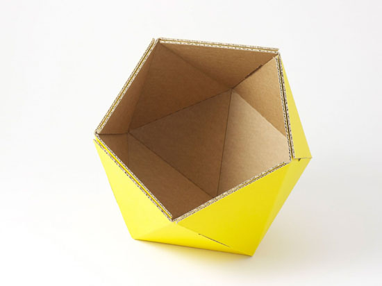 ICO Recycled Cardboard Baskets