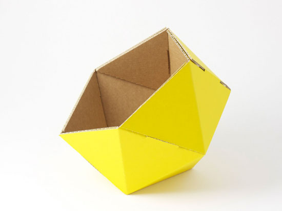 ICO Recycled Cardboard Basket