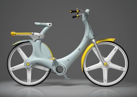 izzy city bike concept