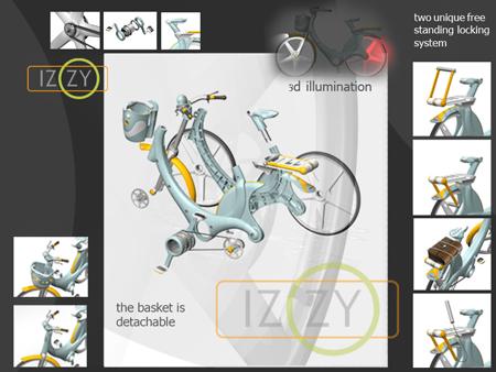 izzy city bike environmentally friendly