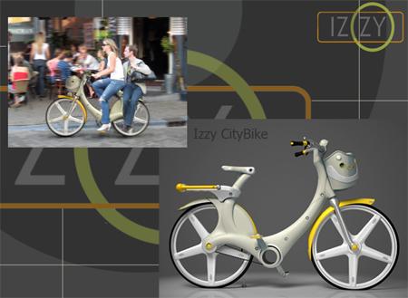 izzy city bike zero emission