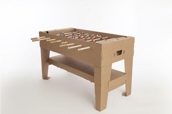 Kartoni I Love To Kick Cardboard Foosball Table