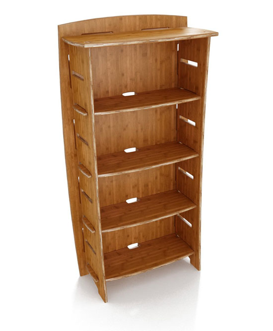 Lagare 59-Inch By 3-Inch Bookcase