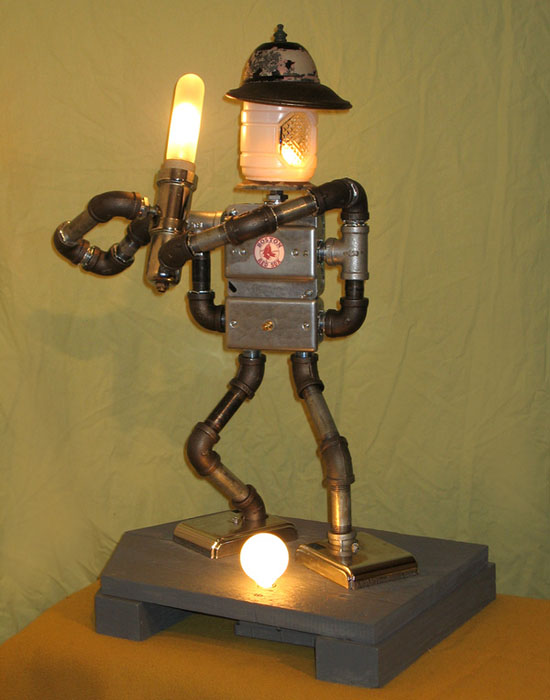 Lamp Revival Collection by Maurice Klapfish - Babe Electra