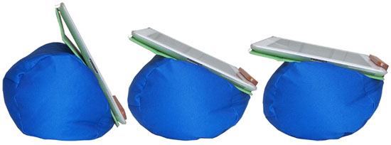 Lap Log Soft Beanbag Tablet Stand